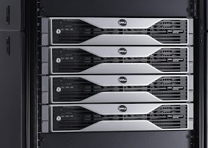 Dell Precision R7610 workstation - rack view