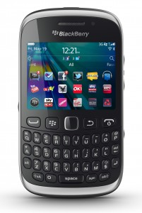 Have the compact and sleek BlackBerry Curve 9320 at PHP 8,990 less PHP 1,000 and the trade-in value of the swapped mobile phone.