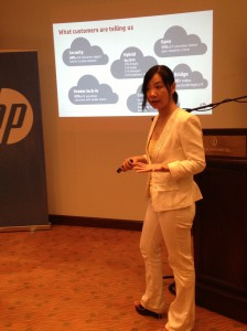 HP Worldwide Solutions Manager for Converged Infrastructure Helen Tang shares how HP is building the bridge to the future while orchestrating an efficient business IT infrastructure.