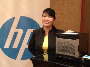 HP Industry Standard Servers and Software Category Manager Veronica Escalante announces new servers for SMBs.