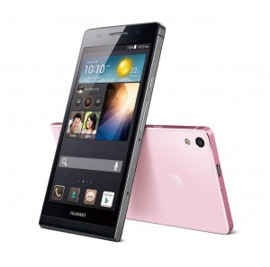 Measuring 6.18mm, HUAWEI Ascend P6 is the flagship smartphone of the HUAWEI Ascend P series that features a 1.5GHz quad-core processor and a sleek metallic body.