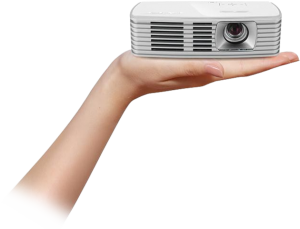 Acer K135 LED projector on Hand