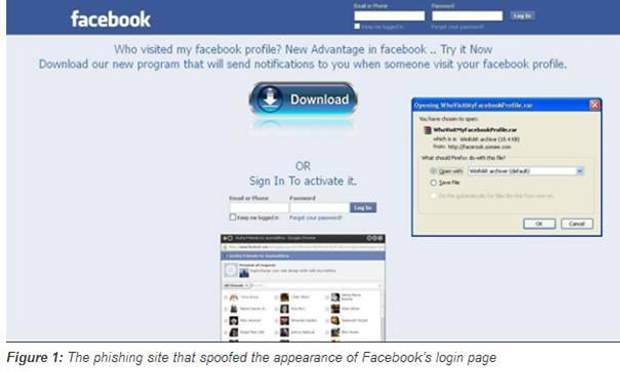 Phishers use malware in fake Facebook app - Symantec