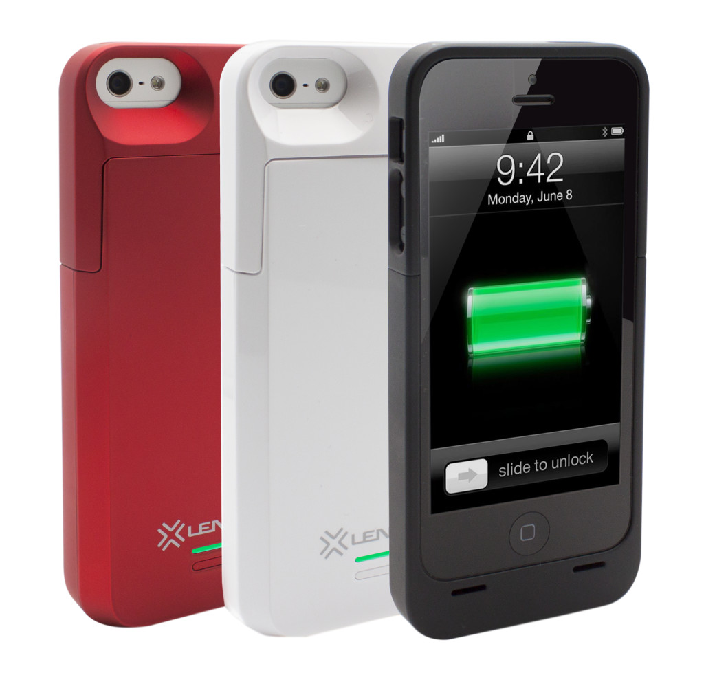 The Lenmar Meridian is a power source and ultra light mobile case in one for iPhones.