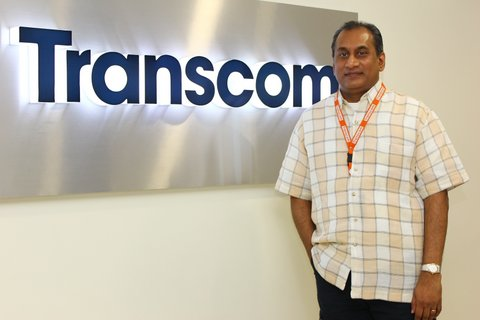 Siva Subramaniam, Transcom Country Manager for Philippines and Head of Sales for Asia Pacific.