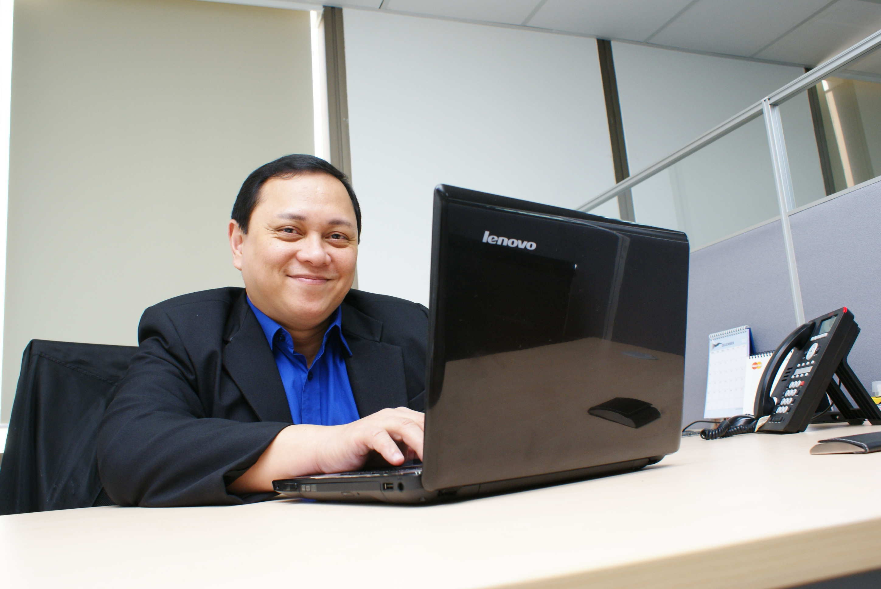 Edmund Reyes, Vice President and IT Head, Information and Technology Division, Maybank