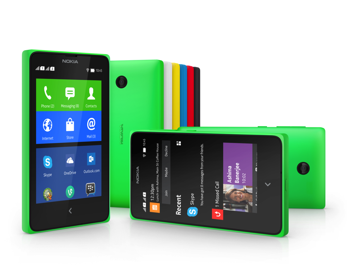 Nokias latest affordable smartphone runs android apps upgrade the nokia x gumiabroncs Choice Image