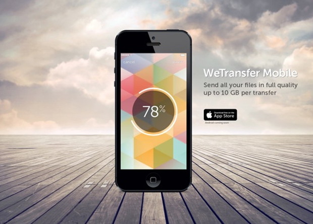 We Transfer: WeTransfer Debuts New Mobile App To Boost Productivity