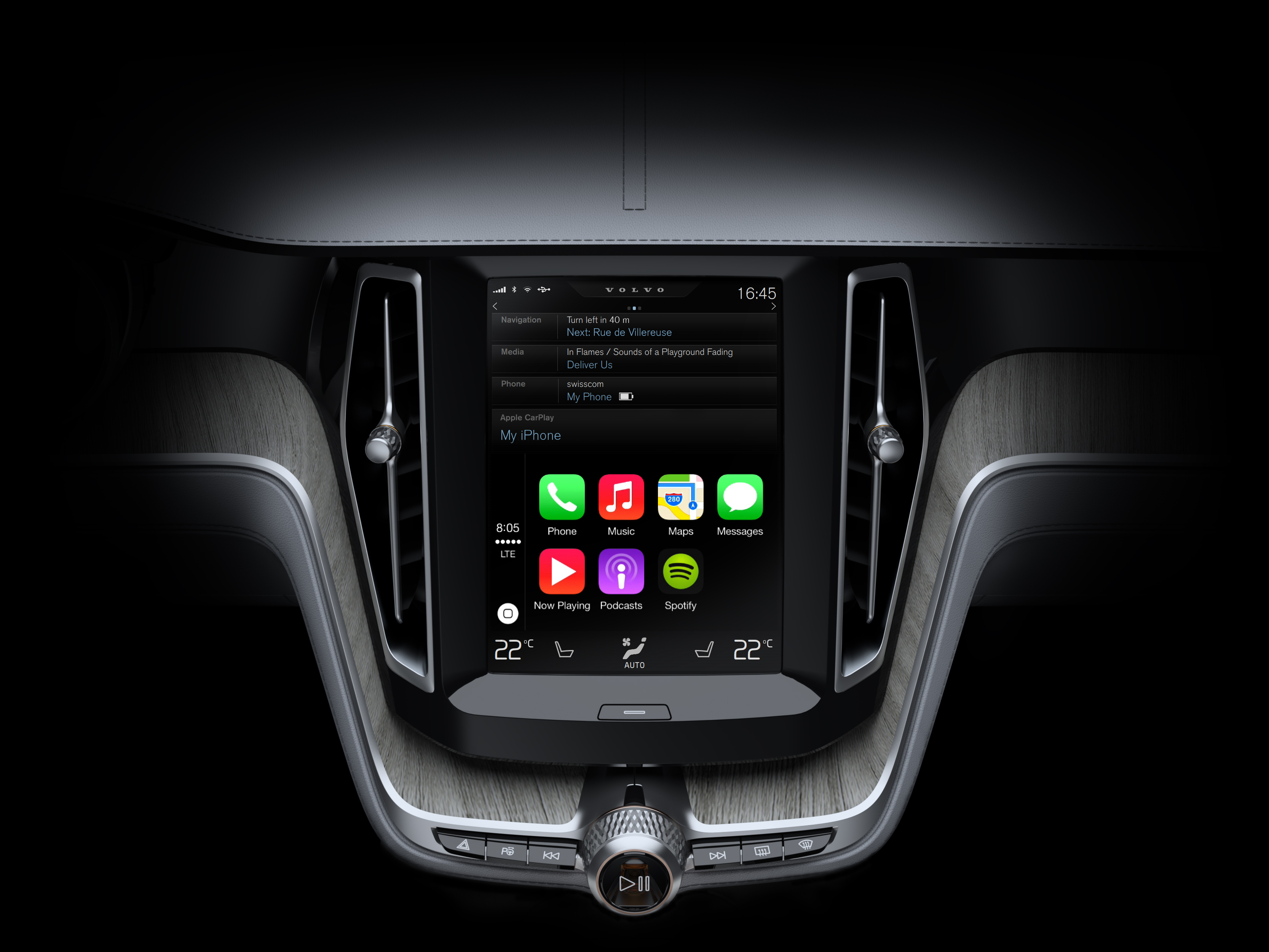 Volvo Cars Soon To Feature Apple S Ios In Center Console