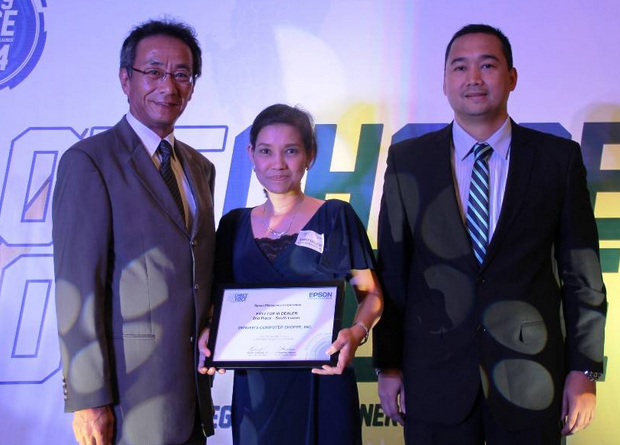 Epson Philippines Corporation (EPC) awarded Denver's Computer Shoppe, Inc. as the Top Epson RegionalPartner in Luzon under its Fiscal Year 2013