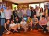 Just some of the participants of Geeks on a Plane (GOAP), an invite-only tour of startup founders, venture capitalists, and investors from Silicon Valley. The group is led by Dave McClure of 500 Startups (seated at the center in white 500 Startups shirt) and includes IdeaSpace Founder and President Earl Martin Valencia (standing, center) and Voyager Innovations FVP and Group Head Stephen Misa (standing, gray jacket).