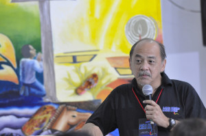 Professor Joey Tañedo, Chairman of the Visual Arts Committee of the National Commission for Culture and the Arts (NCAA).