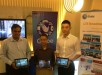 Globe showcases their LTE-CA technology with speeds of up to 220 Mbps and the new LTE Broadcast (eMBMS) in a demo led by Globe Head for Network Technologies Strategy Manny Estrada and Senior Advisor for Product Planning AshishPilani together with Huawei Senior Account Manager Jordy  Cao.