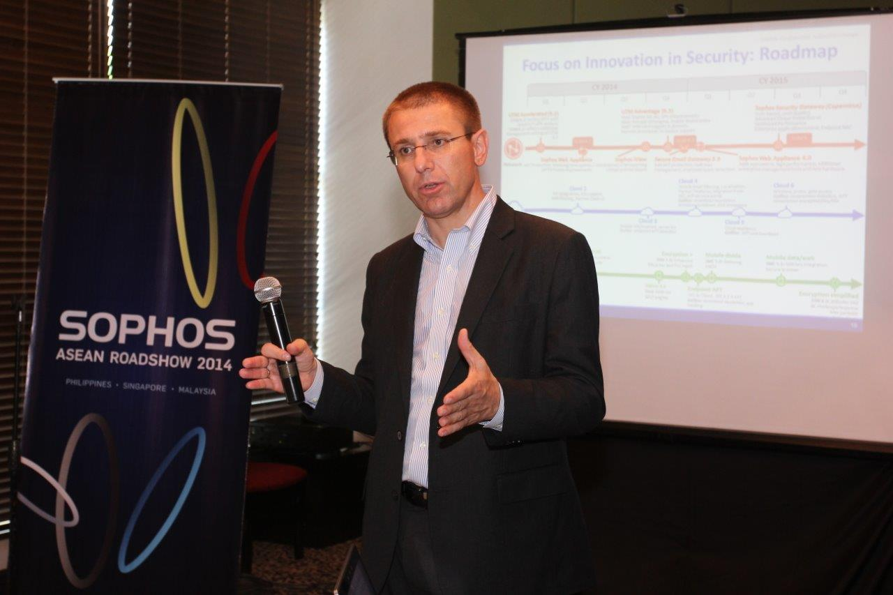 Gerhard Eschelbeck, Chief Technology Officer and Senior Vice President at Sophos