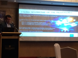 Ronnie Latinazo, Country Manager, EMC Philippines: More companies realize that IT is a key strategic enabler for business growth