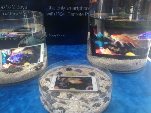 The Xperia Z3 mobiles devices are fully waterproof, delivering the highest waterproof rating of IP 65/68.
