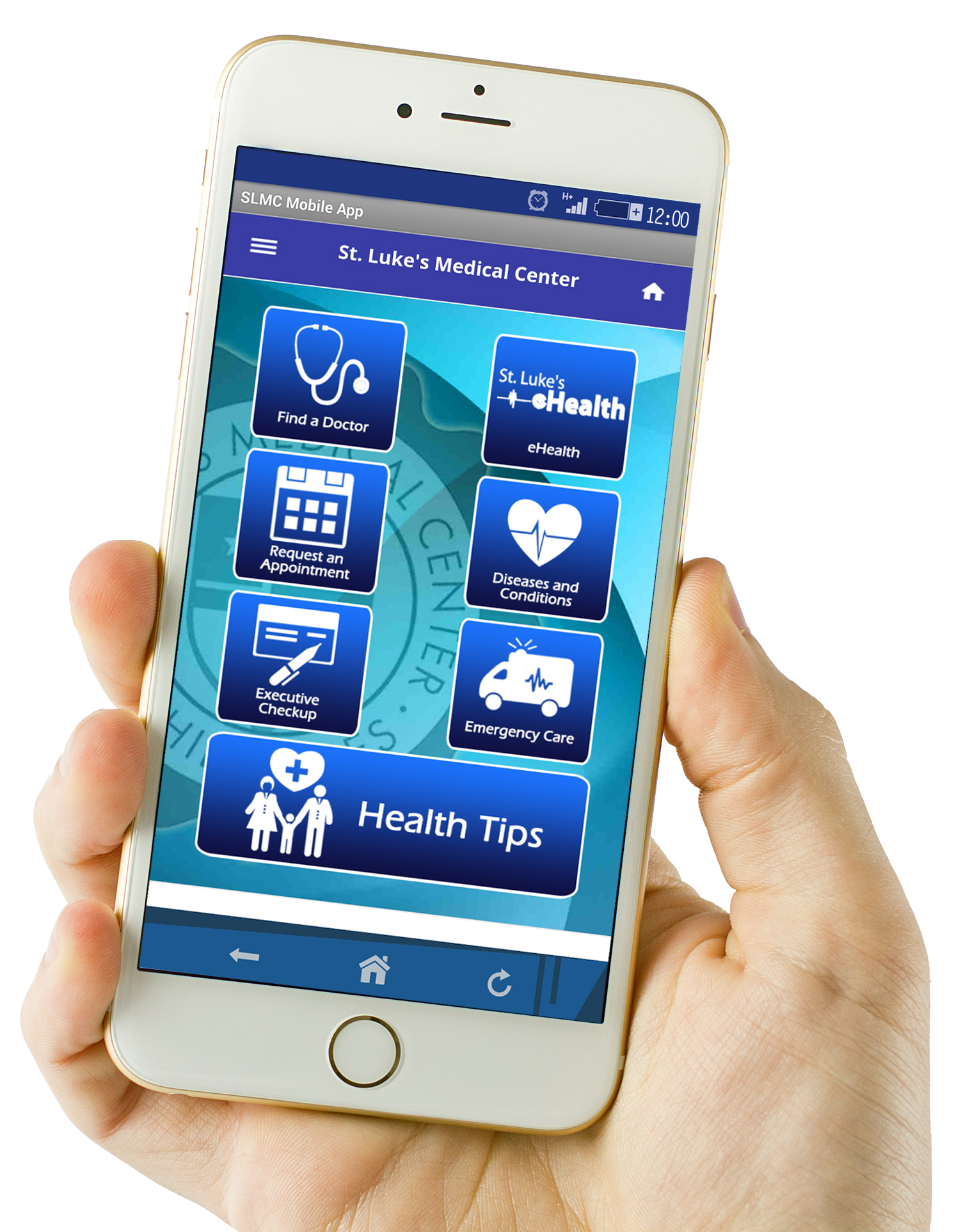 Mobile App Gives Public Easy Access To St Luke S