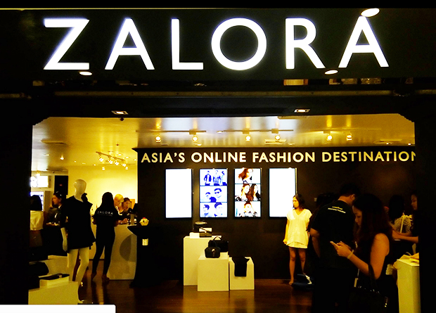 """2268a0578ccdb To promote e-commerce activity, online fashion store ZALORA Philippines has  introduced and opened what it calls as the country's first """"digital pop-up  ..."""