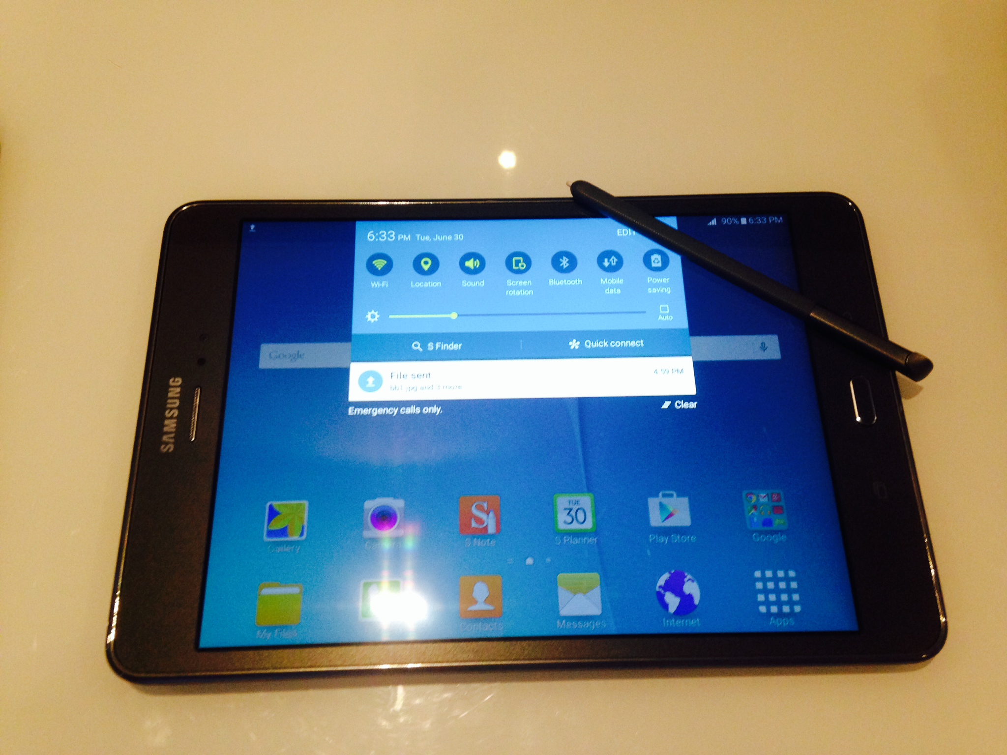 de42507a1 Samsung s Galaxy Tab A with S Pen is also an LTE phone – Upgrade ...