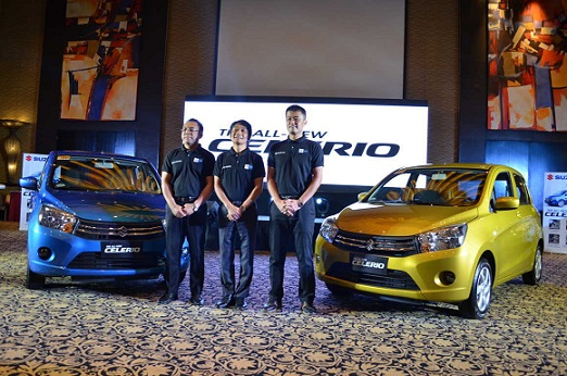 Gracing the media launch were (from left) Suzuki Philippines Managing Director Mr. Norminio Mojica, Suzuki Philippines President Mr. Hiroshi Suzuki, and Suzuki Philippines General Manager for Automobile Mr. Shuzo Hoshikura