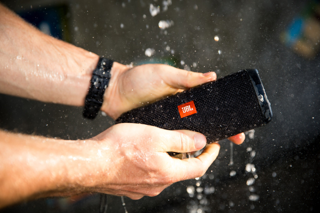 The JBL Flip 3. PHOTO COURTESY OF HARMAN