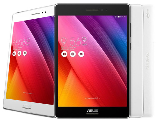 The ZenPad S 8.0 is powered by a 64-bit Intel Atom Z3580 processor and is the world's first 8-inch tablet with 4GB of RAM.