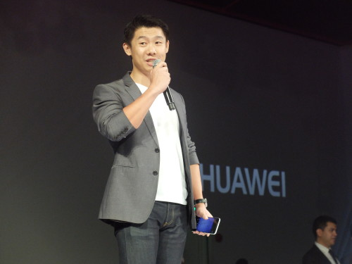 """Charles Wu: """"The Huawei Watch was designed and created to enhance and be part of the consumer's everyday lives. """" PHOTO BY MELBA BERNAD"""