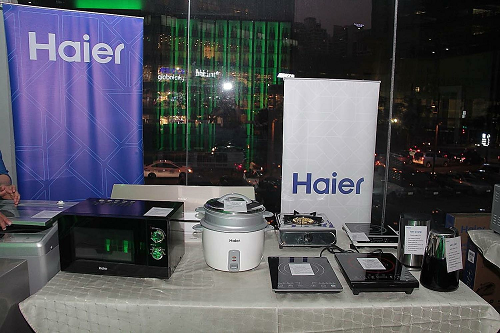 Haier's new Small Domestic and Kitchen Appliances product line.