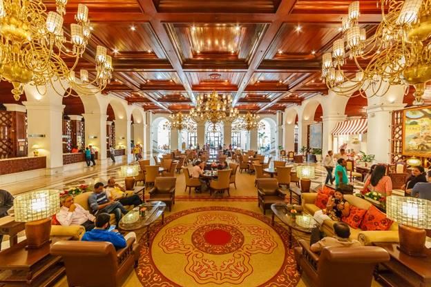 The Manila Hotel Lobby