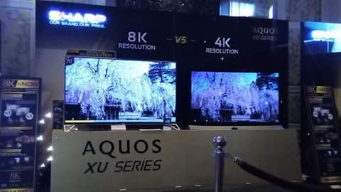 cdd37a892cc545 Sharp launches AQUOS XU TV series, world s first 4K TV with 8K ...