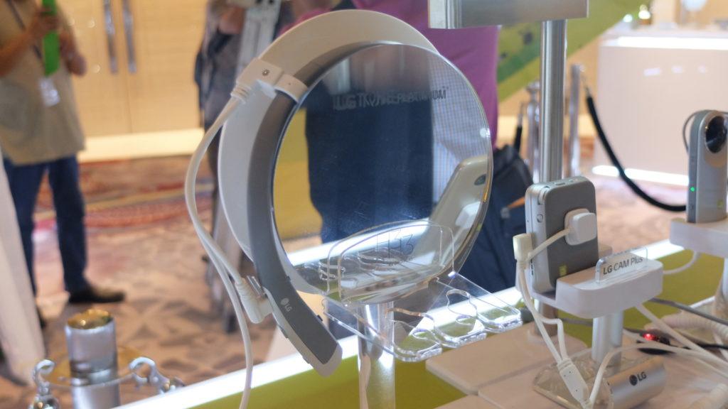 The LG Tone Platinum