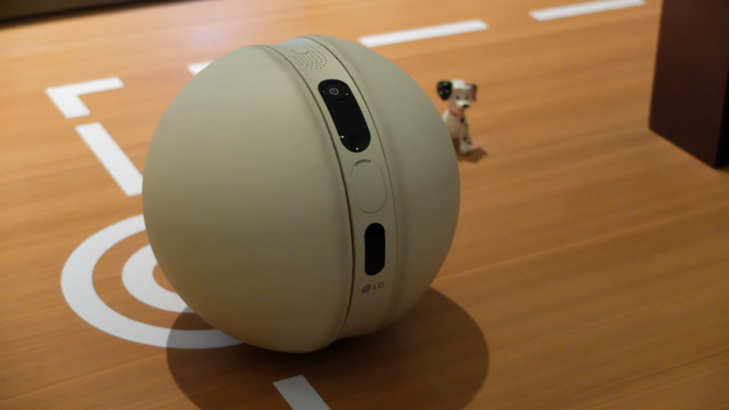 The LG Rolling Bot