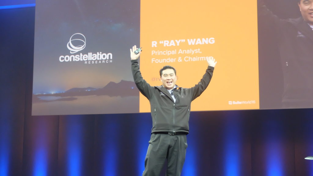 "Principal analyst, founder and chairman of of Constellation Research, Ray Wang: ""Digital Darwinism is unkind to those who wait."" PHOTO: MELBA BERNAD"