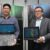 (L-R) Francis Judan, 4P Manager for Commercial SMB, Lenovo Philippines and Michael Ngan, Country General Manager, Lenovo Philippines introduces the newest products under the Think X1 family Lenovo ThinkPad X1 YOGA and Lenovo ThinkPad Tablet.