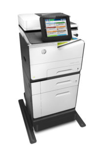HP PageWide Enterprise Color MFP 586z. PHOTO: HP