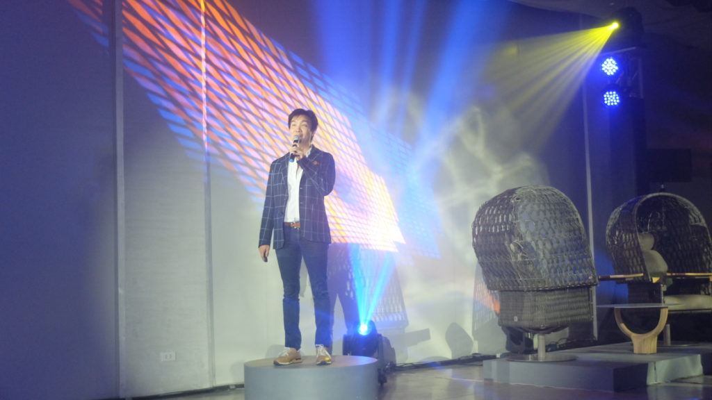 The event was headlined by multi-awarded furniture designer and manufacturer Kenneth Cobonpue who exhibited his ingenious works and shared his personal creative process in coming up with his masterpieces. PHOTO: MELBA BERNAD