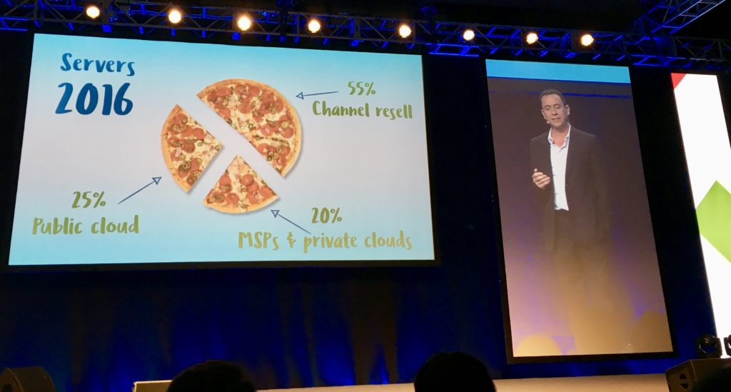 "Steve Brazier, President and CEO of Canalys: ""The market has changed. It is no longer growing."" PHOTO: MELBA BERNAD"