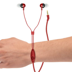 Vogue Wearable Wristband Leather Earphones