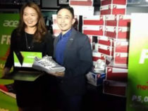 Acer Philippines Sales and Marketing Director Sue Ong-Lim, and New Balance Marketing Lead Jonathan De Guzman
