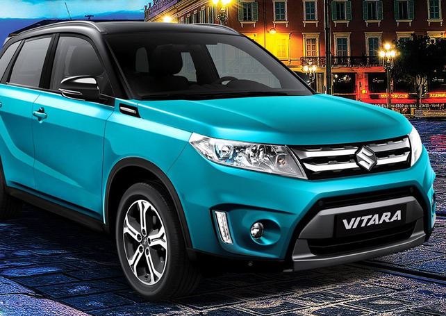 Japanese Owned Compact Vehicle Assembler Suzuki Philippines Launched The All New Fourth Generation Suzuki Vitara Subcompact Sport Utility Vehicle Suv
