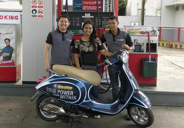 Havoline announces Vespa scooter winner of 'True Power from