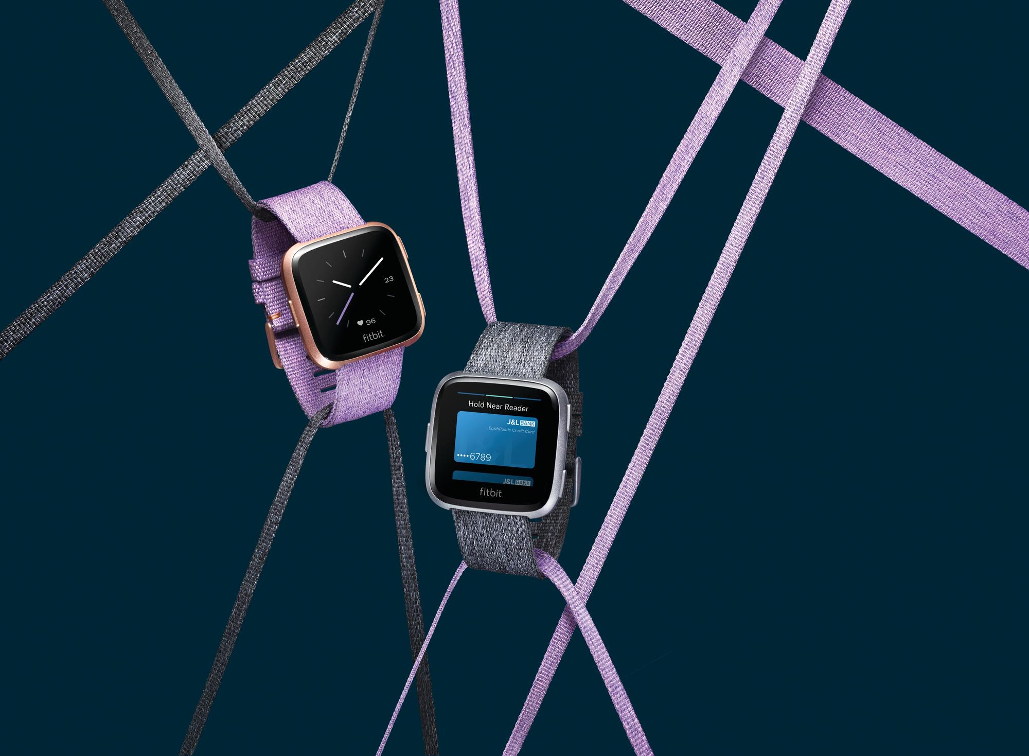 fitbit versa special edition smartwatch