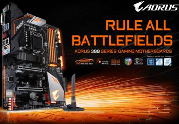 GIGABYTE releases H370 and B360 AORUS gaming WiFi series