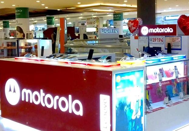 Motorola expands retail footprint in VisMin, shares 2018