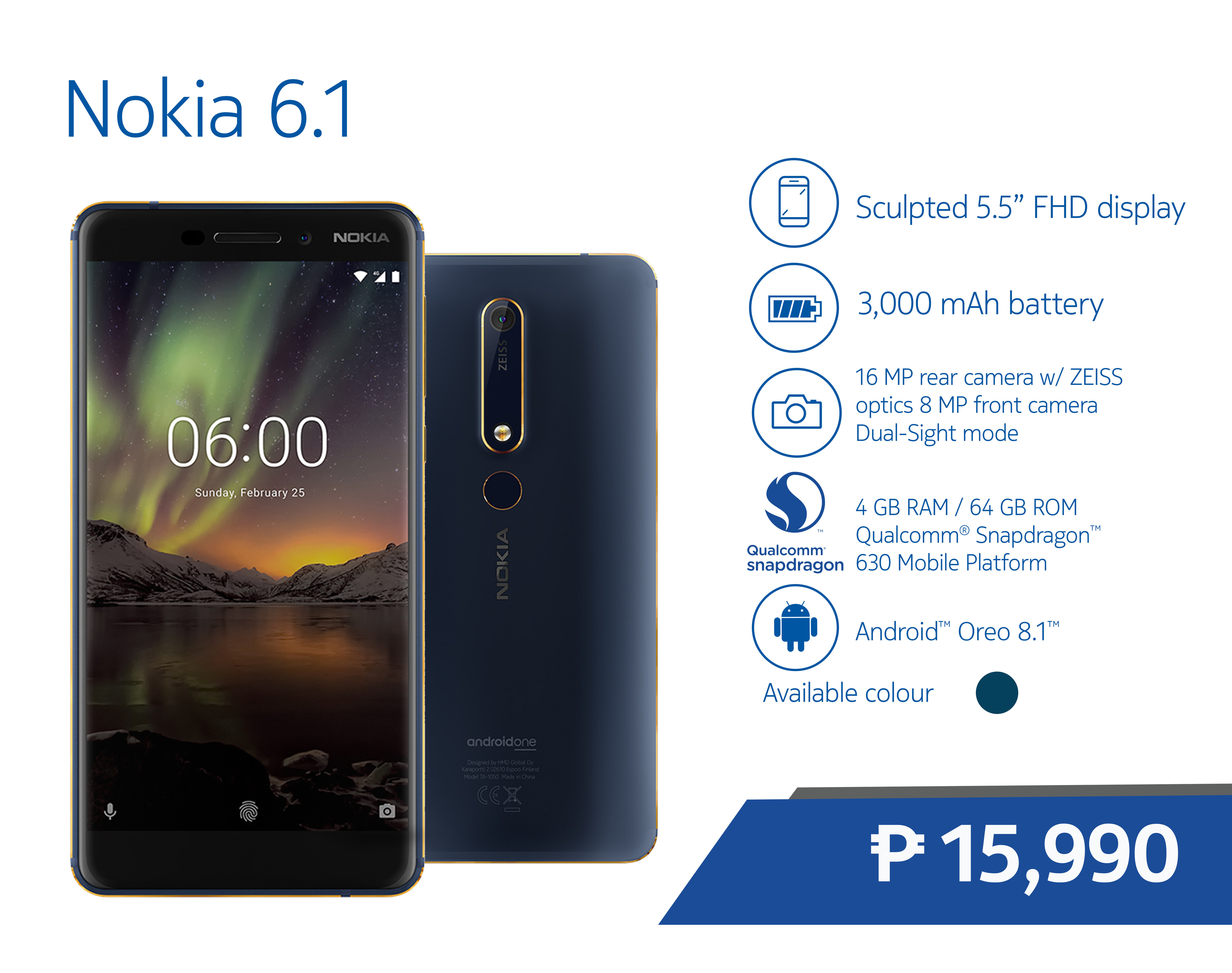 The newest member of the Originals family the Nokia 8110 4G is also now available in a flashy black variant It also offers the more playful color