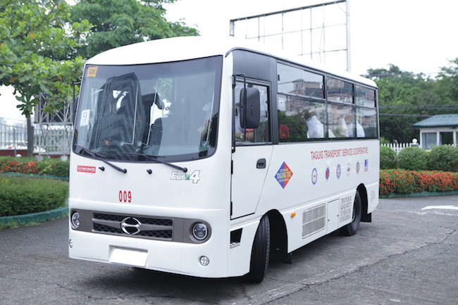 Hino First To Roll Out Modern Jeepney Units To Transport