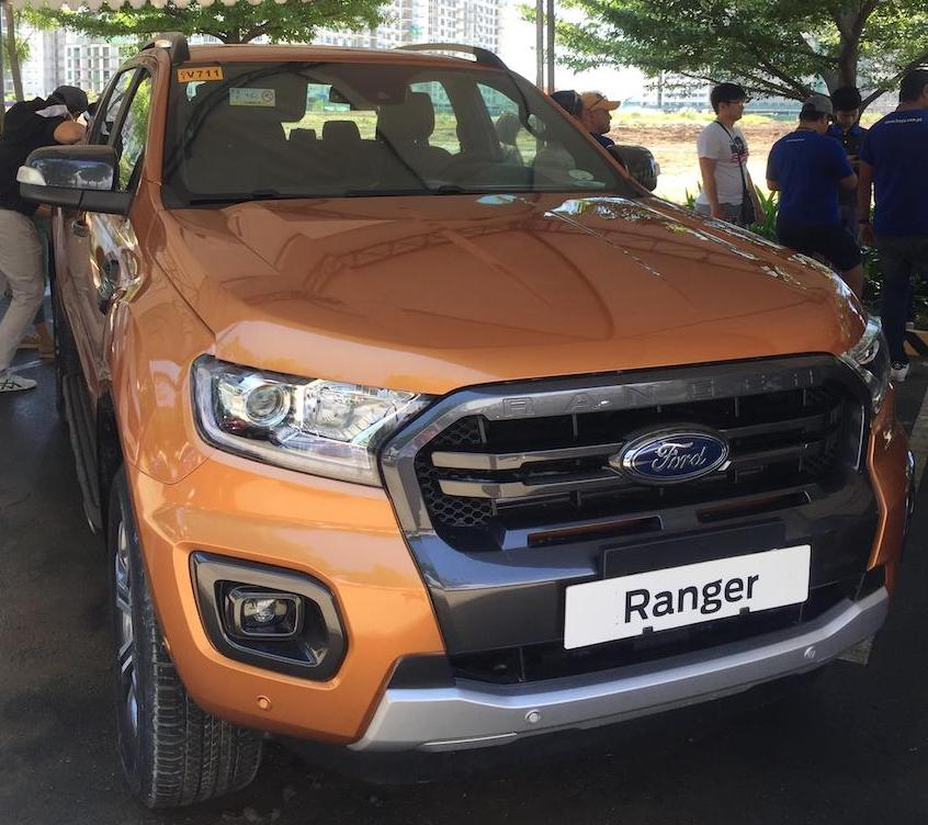 ford philippines unveils the new ford ranger