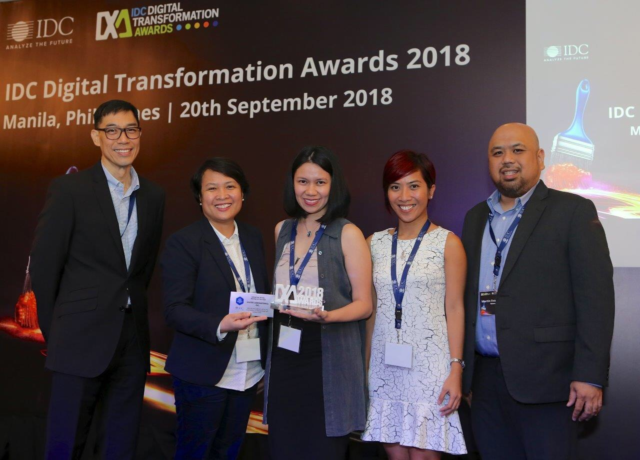 Oracle NetSuite client Unilab wins at the IDC Digital Transformation