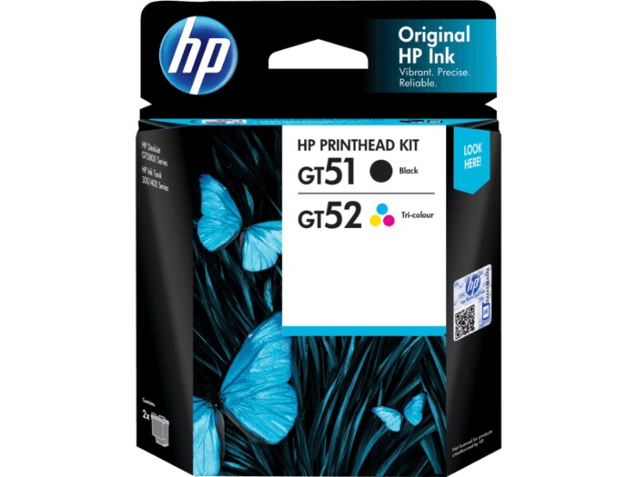 HP makes DeskJet GT and Ink Tank printhead replacement