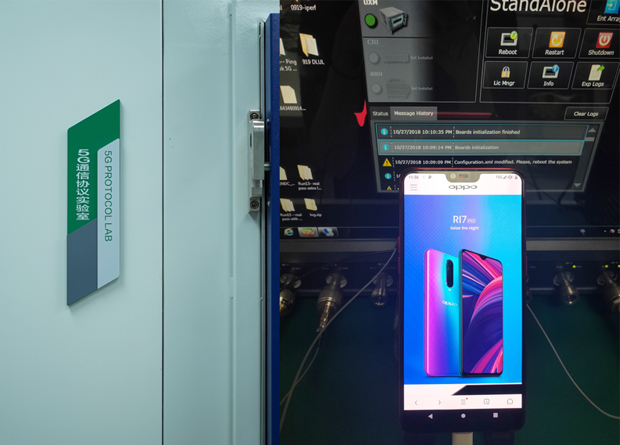 OPPO smartphone claims to have pioneered 5G internet